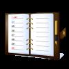 シンプルなデザインで使いやすく、Googleカレンダーと同期連携もできるカレンダー&システム手帳アプリ「ジョルテ」