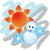 日本や世界の指定した地域の天気予報と時間をチェックできるウィジェットアプリ『世界天気時計』