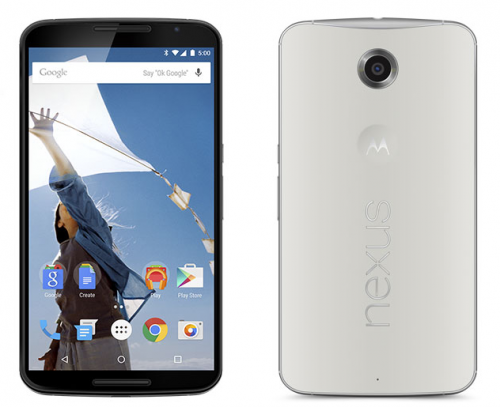 Nexus 6 クラウドホワイト