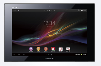 Xperia Tablet Z SO-03E