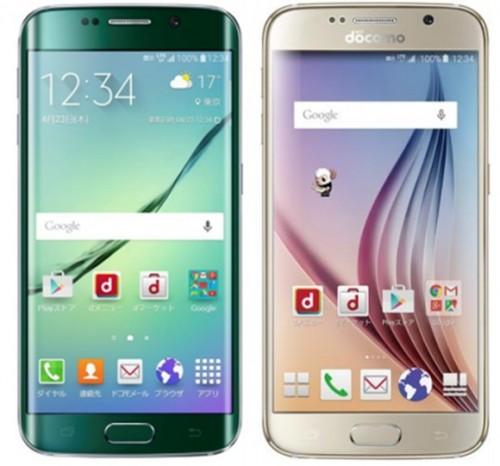 Galaxy S6 edge SC-04GとGalaxy S6 SC-05G