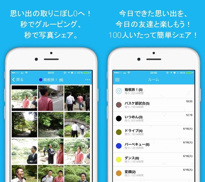 iPhoneアプリ『dotcle』