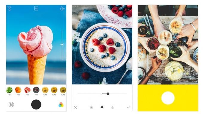 食べ物の撮影に特化したフード専用カメラアプリ「Foodie」main