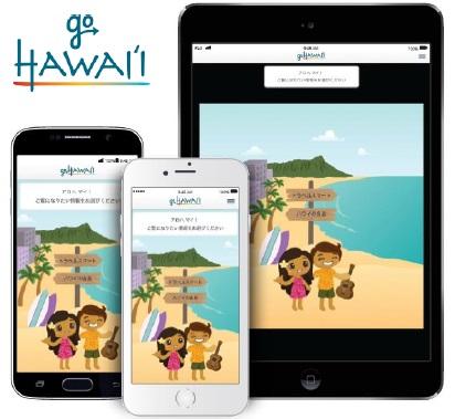 ハワイ旅行のガイドアプリ『GoHawaii』イメージ