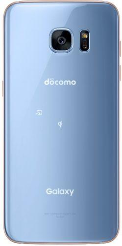 「Galaxy S7 edge」Blue Coral docomo