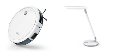 eufy RoboVac 11 (自動掃除機ロボット)アンドeufy Lumos E1 (LEDデスクライト)