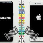 「Galaxy S8+」vs「iPhone 7 Plus」!!アプリのスピードテスト動画が公開。勝ったのは・・・