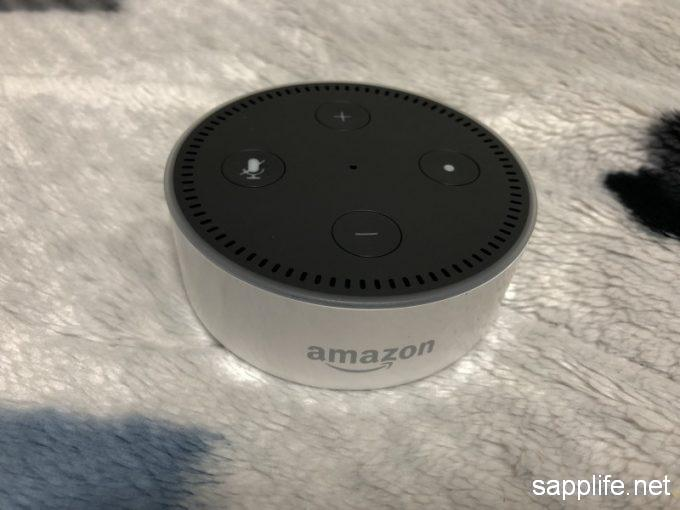 Amazon echo dot本体画像