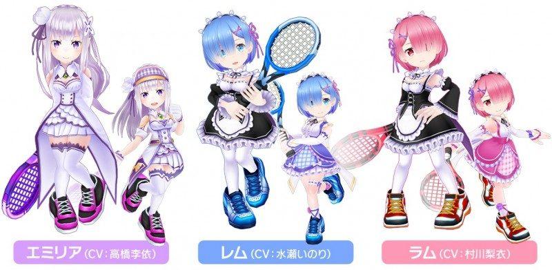『Re:ゼロから始める異世界生活』と『白猫テニス』が初のコラボ2