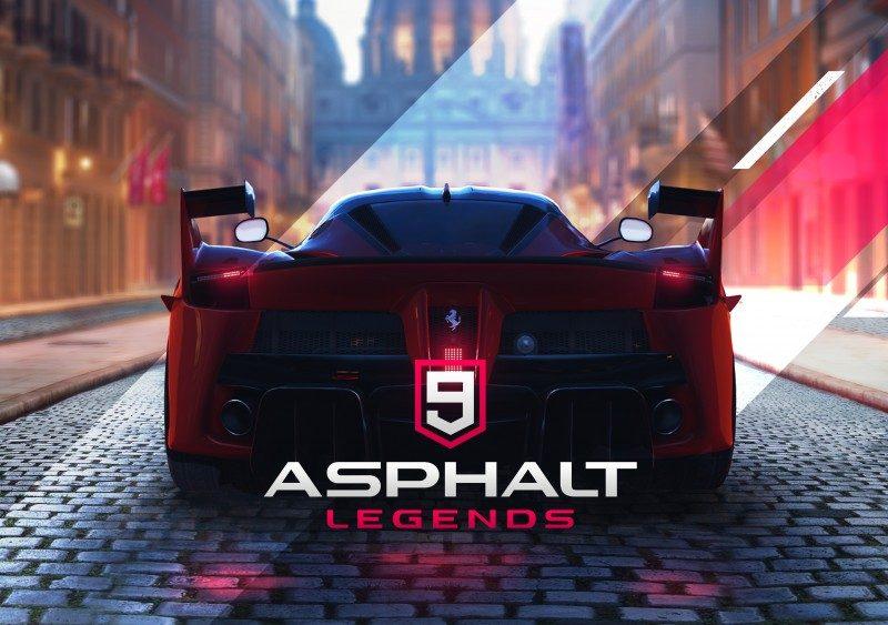 最新スマホレーシングゲーム『アスファルト9:Legends』