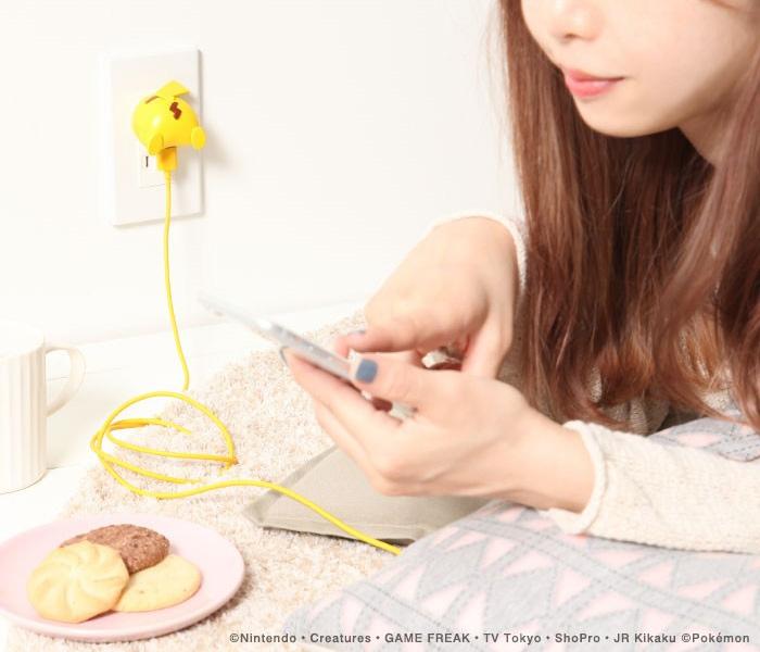 ポケモン USB-AC充電器 おしりシリーズ(ピカチュウ)3