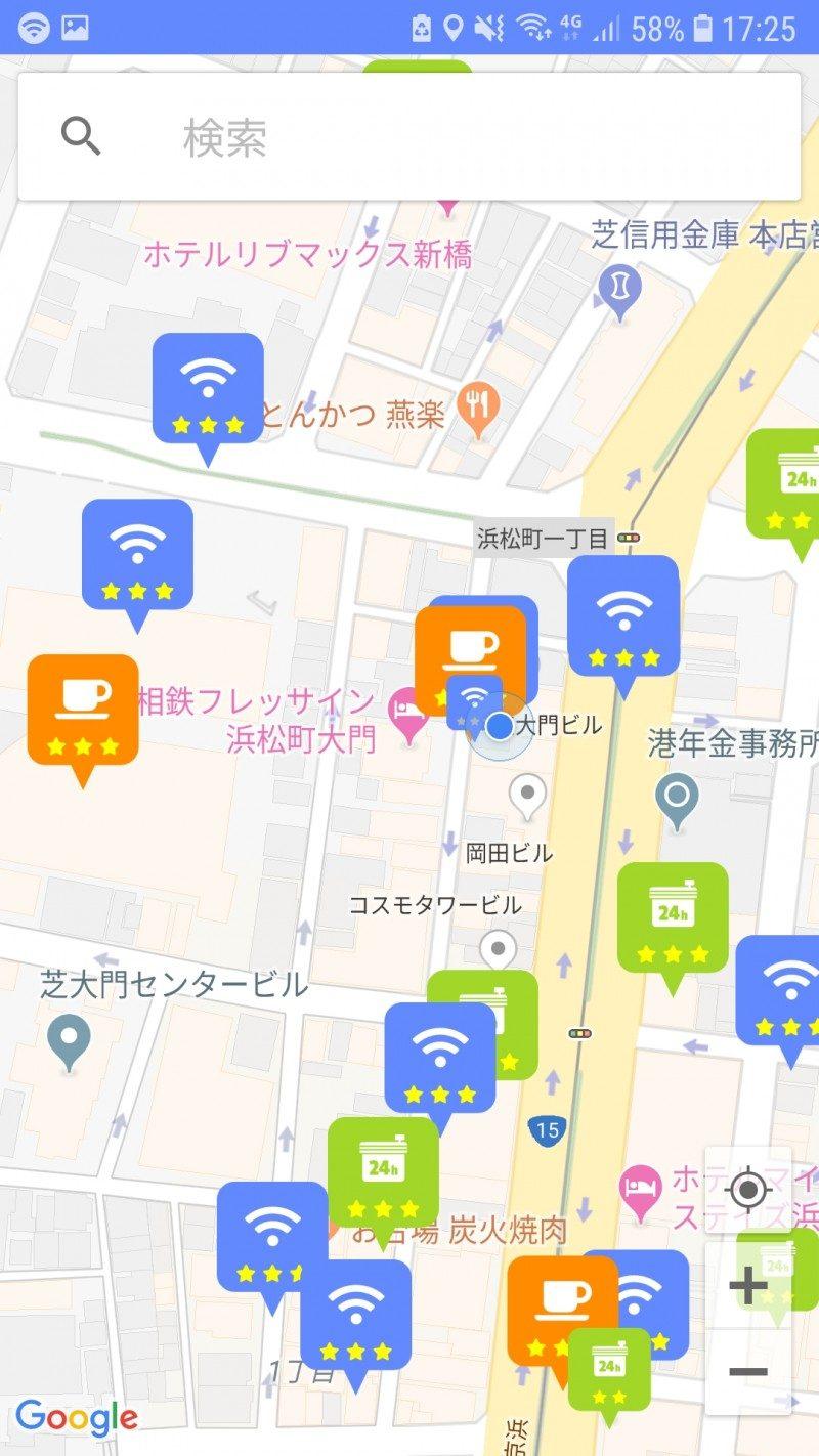 タウンWiFiに「WiFiマップ機能」を搭載0