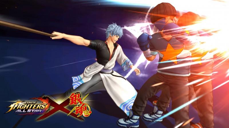 『銀魂』コラボファイター戦闘シーン2