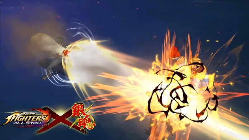 『銀魂』コラボファイター戦闘シーン