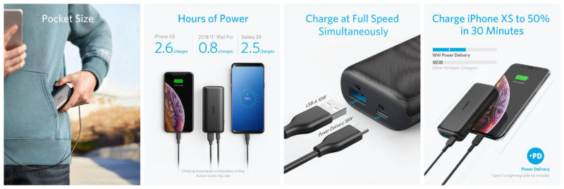 Anker PowerCore 10000 PD説明
