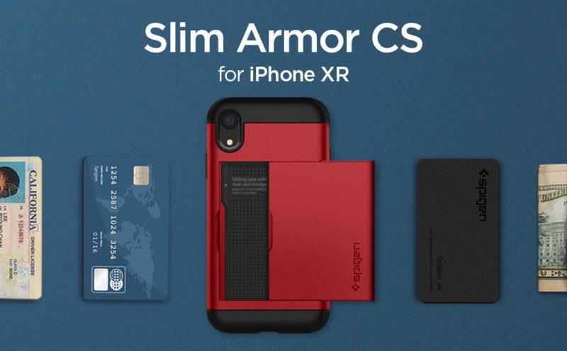 カード収納ケース「スリム・アーマー CS」の新色レッド、ブルー