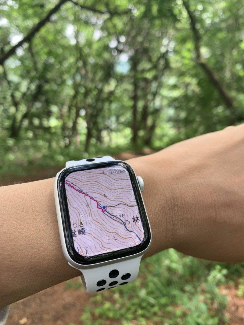 Apple Watch 対応の登山地図アプリ「ヤマレコMAP」0006