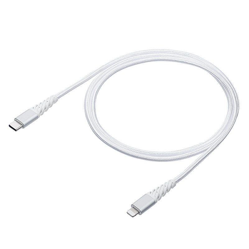 USB Type-C ライトニングケーブル「500-IPLM025W」00