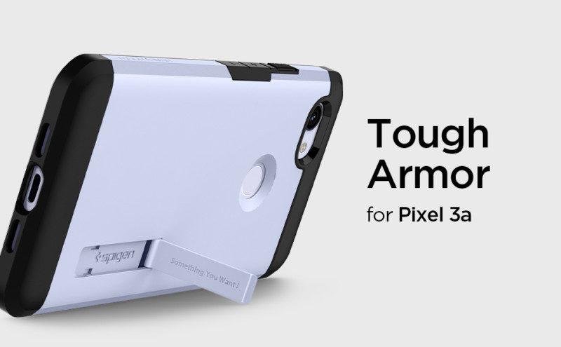 Pixel 3a用耐衝撃ケース「タフ・アーマー」の新色パープリッシュ