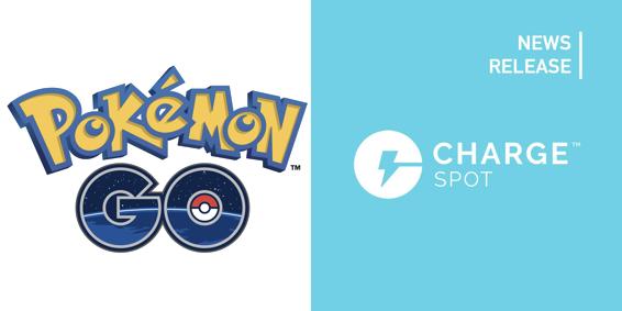 モバイルバッテリーシェアリング「ChargeSPOT」『Pokémon GO』のオフィシャルパートナーに
