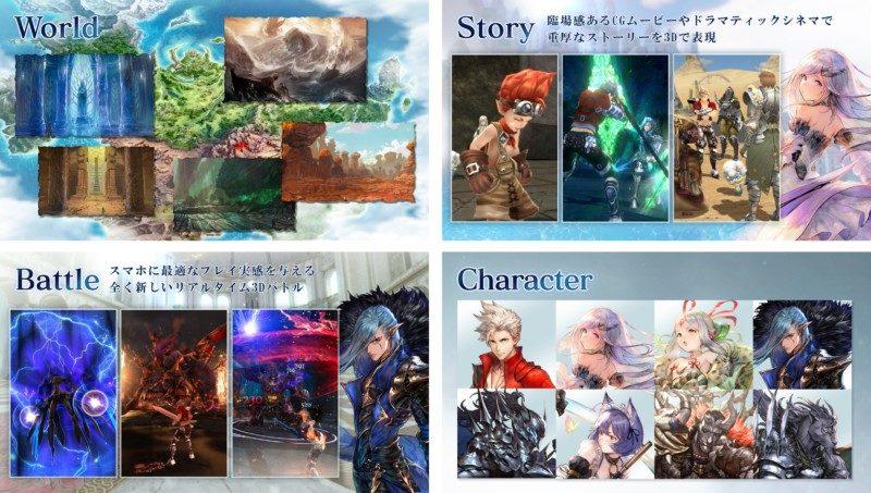 世界観やストーリー、バトルなどのゲーム内容