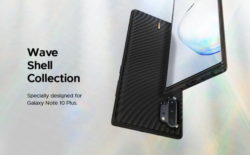 Galaxy Note10+ケース「ウェーブ シェル」