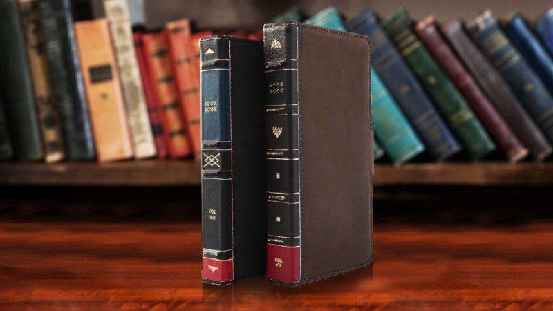 2色から選べるプレミアムレザー仕様のオールインワンiPhoneケース