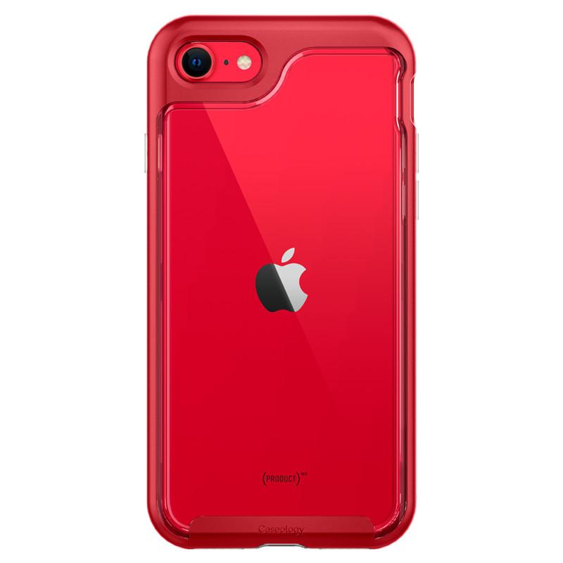 第2世代iPhone SE用ケース 「スカイフォール」(レッド) 06