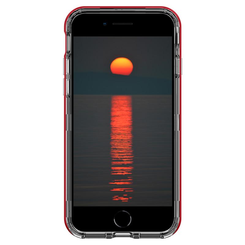 第2世代iPhone SE用ケース 「スカイフォール」(レッド) 07