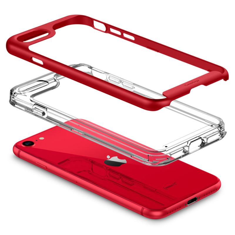 第2世代iPhone SE用ケース 「スカイフォール」(レッド) 09