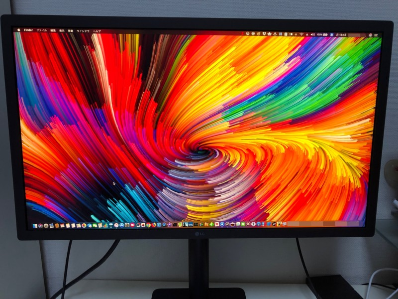23.7インチLG UltraFine 4K Display