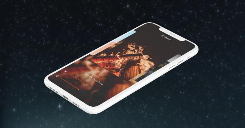 自然音で睡眠やリラックスを助けるiOSアプリ