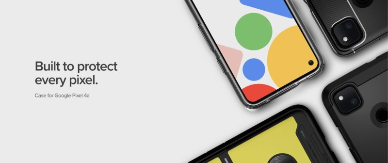 Spigen、Google Pixel 4a用ケース