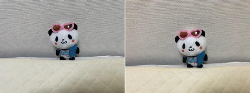 iPhone12とiPhoneXのカメラ比較side