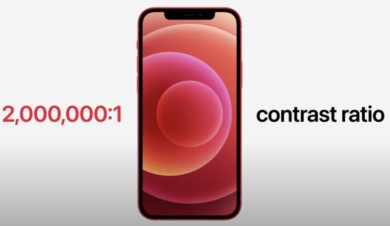 iPhone12とiPhone12 Proの画面