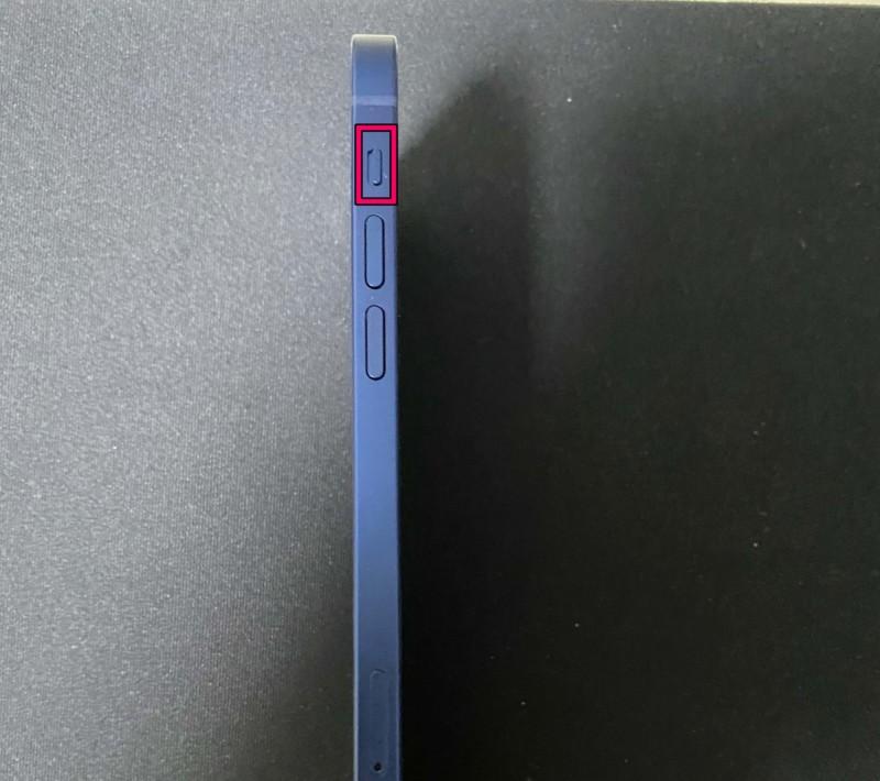 iPhone12サイレントスイッチ