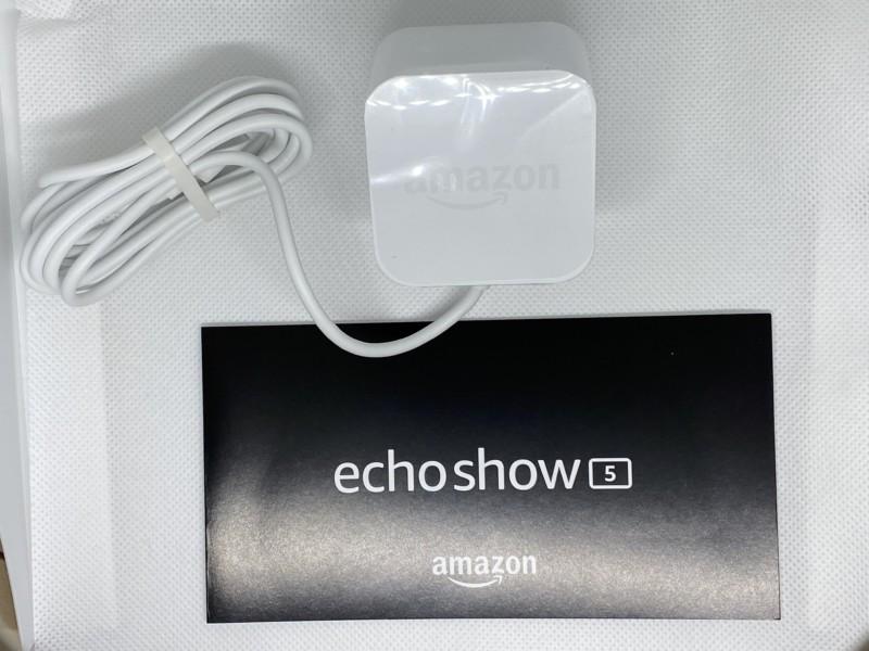 Amazon Echo Show 5付属品