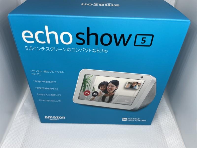 Amazon Echo Show 5箱