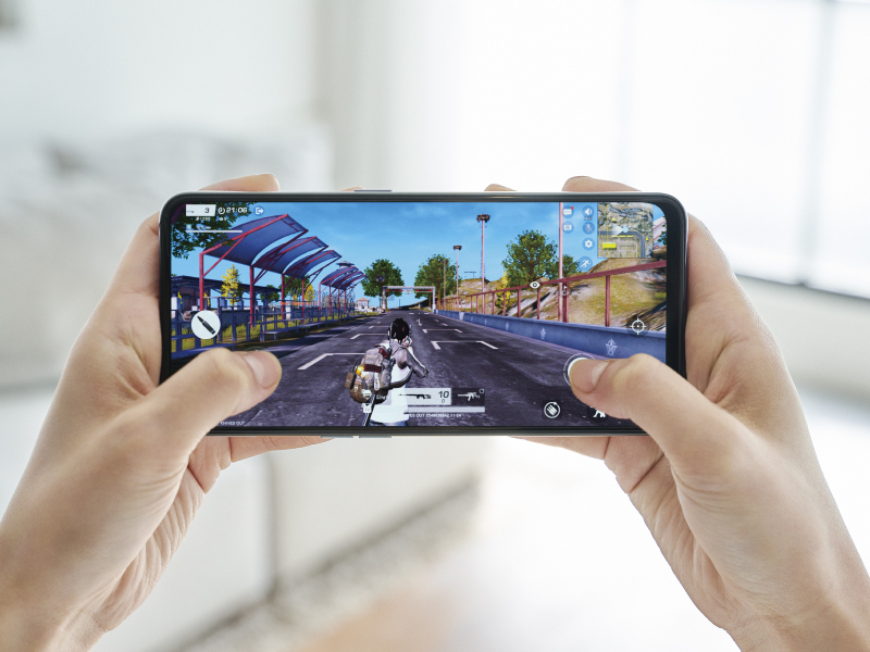 OPPO Reno Aシリーズの新機種「OPPO Reno5 A」ゲーム画面