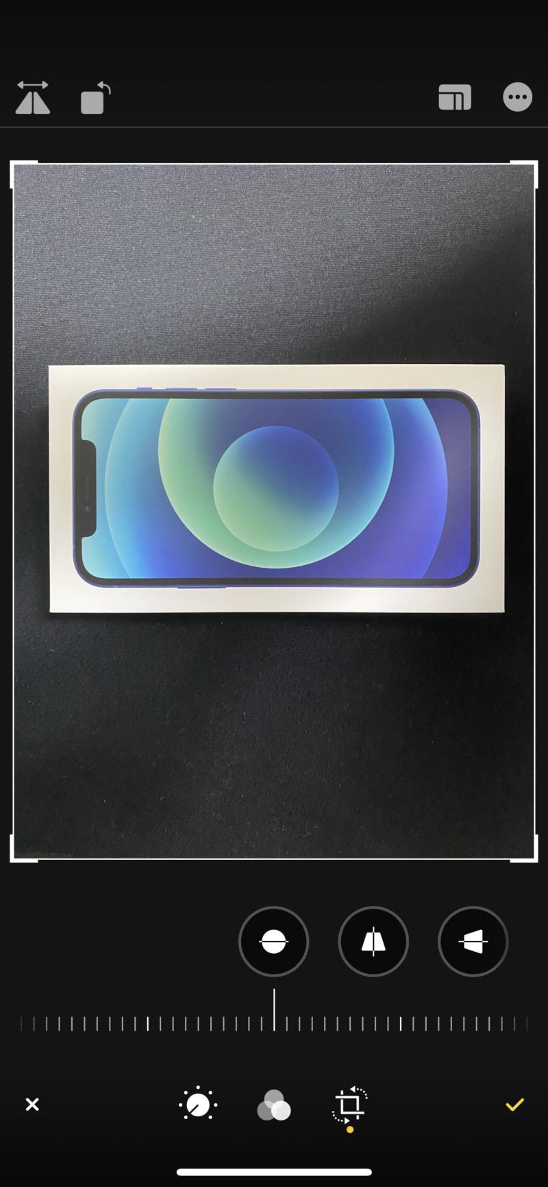 iPhoneの写真アプリで画像を左右反転2